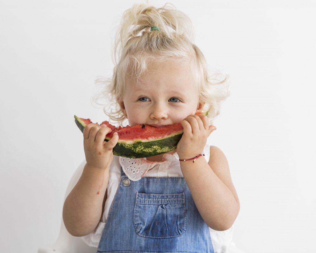 Gesundes Obst in der Kindertagespflege